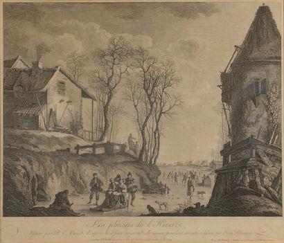 D'après Jean-Baptiste PILLEMENT (1728-1808)...