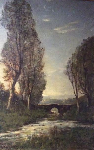 HARPIGNIES Henri-Joseph (1819-1916)
