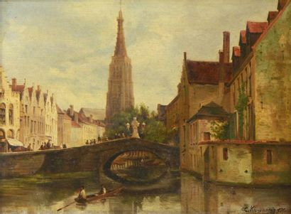 KUWASSEG fils Charles-Euphasie (1838-1904)...