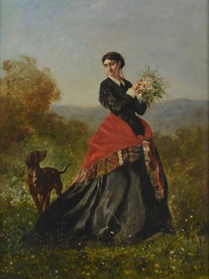 VEYRASSAT Jules Jacques (1828-1893)