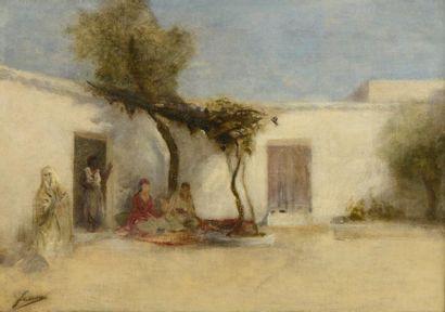 Ecole orientaliste de la fin du XIXe siècle,...