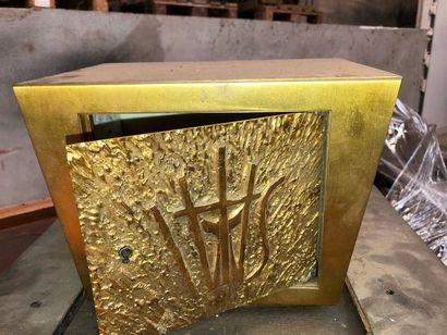 Tabernacle en bronze, vers 1970 (sous réserve...