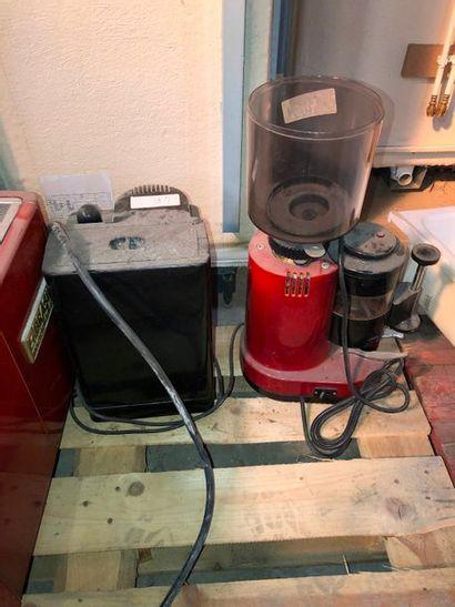 Moulin à café, dans l'état