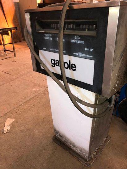 Pompe à essence, gazole, dans l'état