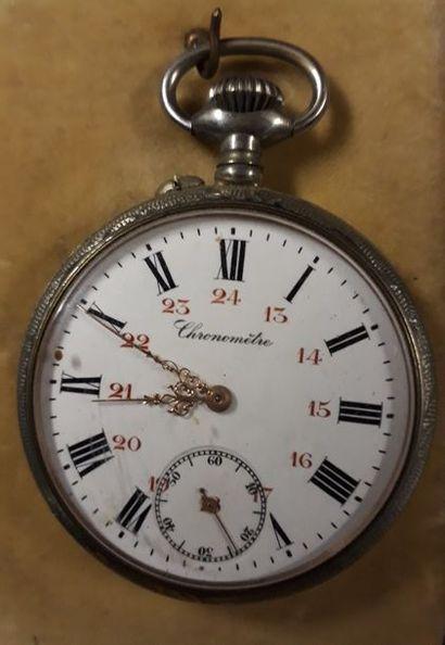 Chronomètre en métal