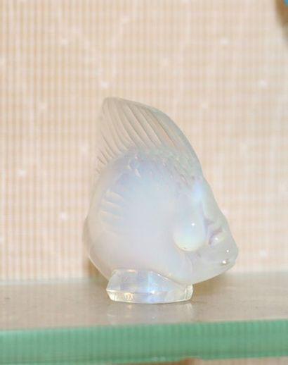 Dans le gout de SABINO - Petit sujet en verre...