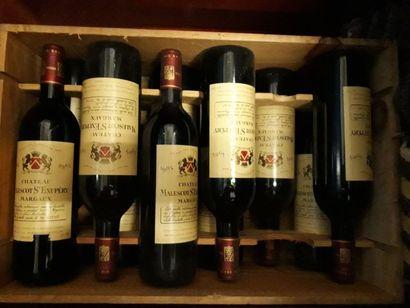 11 bouteilles, Malescot Saint Exupéry, 1985,...