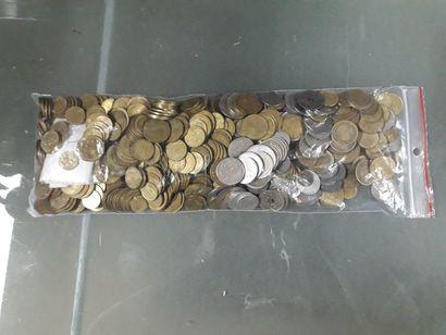 lot de monnaies démonétisées