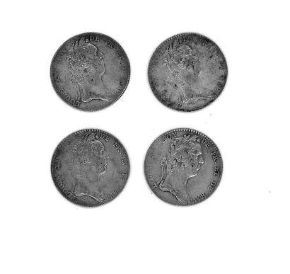 Louis XV (1715-1774) - Quatre jetons d'argent...