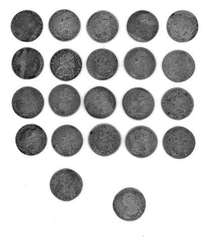Louis XVI (1774-1792) - Vingt-et-une pièces...