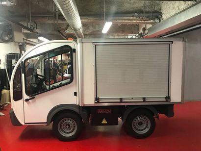 Fourgon à Rideau, véhicule électrique GOUPIL...
