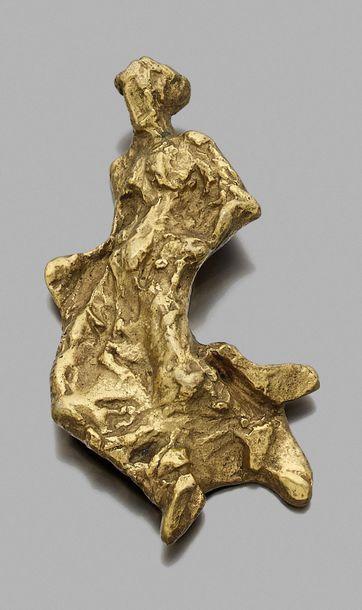 Alberto GIACOMETTI (1901-1966) BROCHE, Sculpture-bijou...