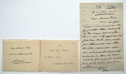 EDOUARD VIII duc de WINSOR (1894-1972) Lettre...