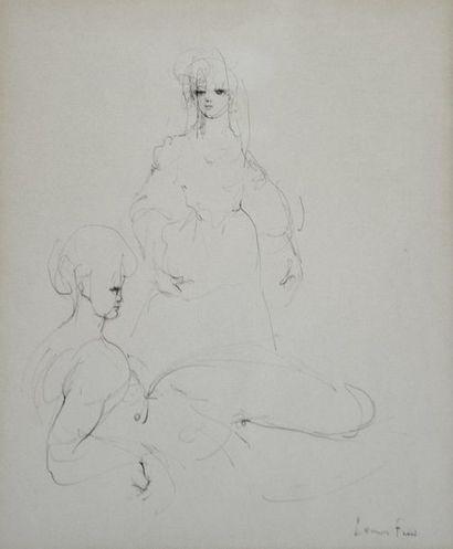 FINI (Leonor) peintre française d'origine...