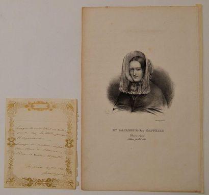 CAPELLE (Marie Fortunée) mieux connue sous...