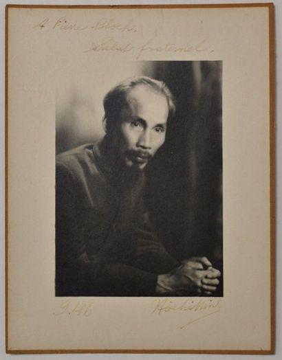 HÔ CHI MINH homme d'Etat vietnamien (1890-1969)...