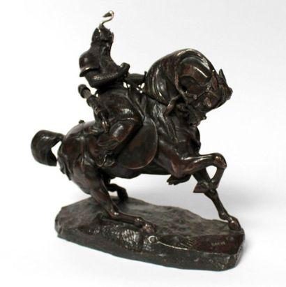 Antoine Louis BARYE (1796-1875) Cavalier...