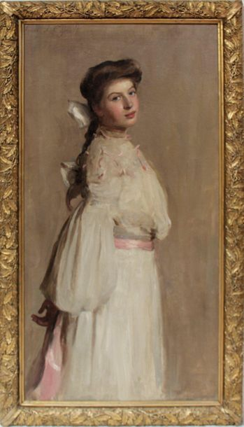 Frank Thomas COPNALL (1870-1949) Portrait...