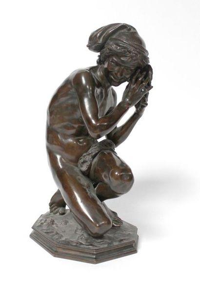 Jean-Baptiste CARPEAUX (1827-1875) Pêcheur...
