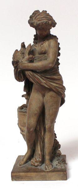 CLODION (1738-1814) (d'après) Jeune femme...