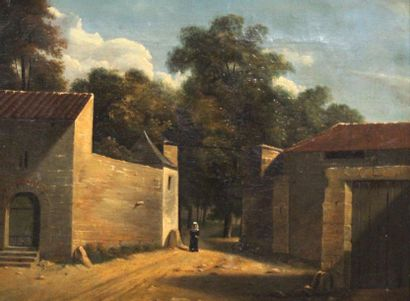 Ecole française vers 1830-40. Religieuse...