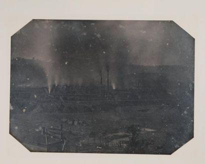 [DAGUERRÉOTYPE]. [AVEYRON] DECAZEVILLE, Mines...