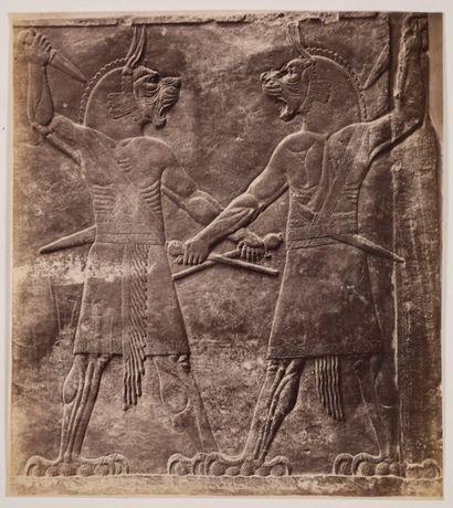 ART ASSYRIEN. Sculptures, bas-reliefs, objet...