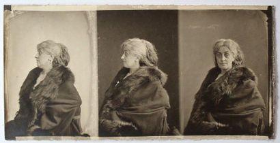 NADAR Félix (1820-1910). Ernestine Lefèvre...
