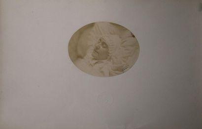 NADAR Félix (1820-1910). Post Mortem. 3 épreuves...