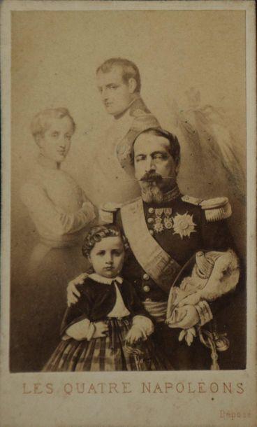 NAPOLÉON III, FAMILLE IMPÉRIALE, ENTOURAGE...