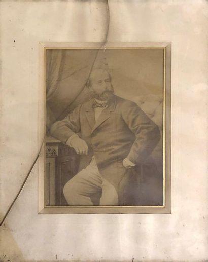 COMTE de CHAMBORD, Henri V (1820-1883). Portrait...