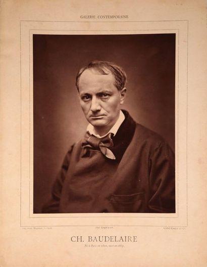 [ÉCRIVAINS] Charles BAUDELAIRE (Paris 1821-Paris...