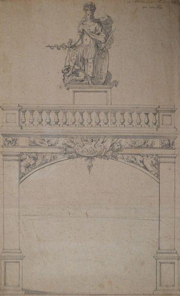 Ecole française du XVIIème siècle. Projet...