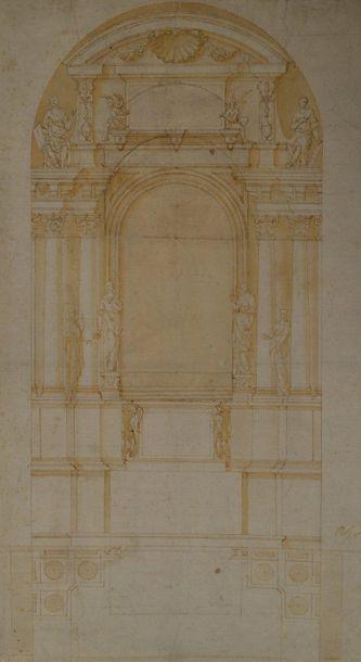 Attribué à Pellegrino TIBALDI (Puria 1527...