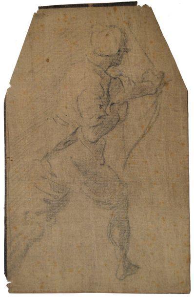 Ecole florentine du XVIIème siècle. Etude...