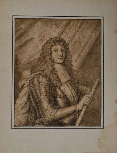 Ecole française vers 1700 Portrait de Maréchal...