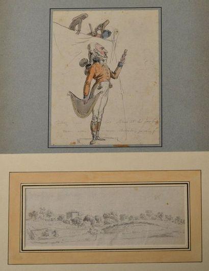 Ecole française du XVIIIème siècle. Le médecin...