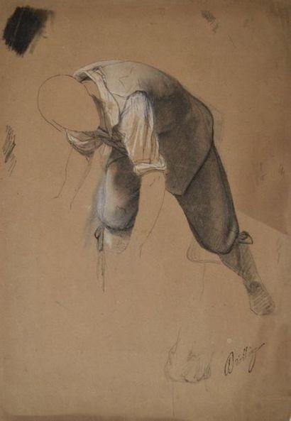 Martin DROLLING (Paris 1786 – 1851) Étude...