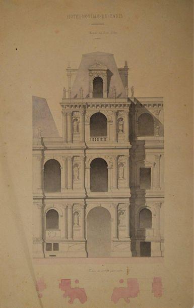 Ecole française du XIXème siècle. Etude pour...