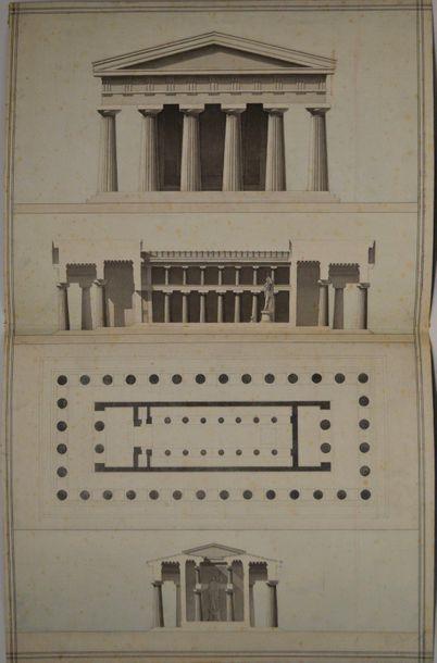 Ecole française du XIXème siècle. Projet...