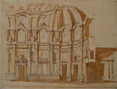 Ecole italienne du XVIIème siècle. Projet...