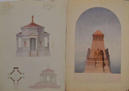 BOURBON (actif au XIXème siècle.) Projet...