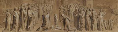 Ecole italienne néoclassique. La résurrection...