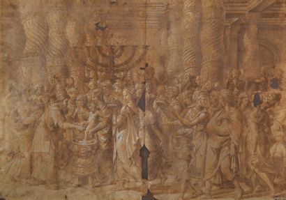 Ecole de Giulio ROMANO (Rome 1499-1546) La...