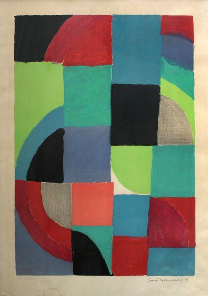 Sonia DELAUNAY-TERK (1885-1979) Printemps,...