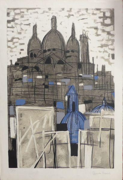 Claude VENARD (1913-1999), Le sacré-coeur....