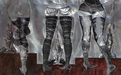 Gérard MOROT-SIR (1931-2003) Six danseuses...