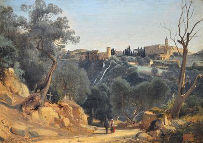 Louis Auguste LAPITO (1803-1874) Promeneurs...