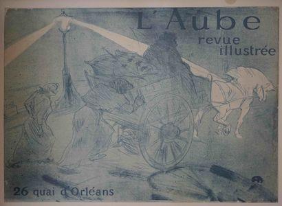 Henri DE TOULOUSE-LAUTREC (1864-1901) L'Aube...