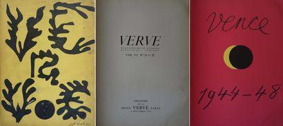 VERVE vol. VI, n° 21 et 22 : Matisse, Vence,...